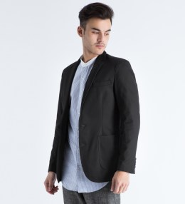 Shades of Grey by Micah Cohen Black Sport Coat Picture
