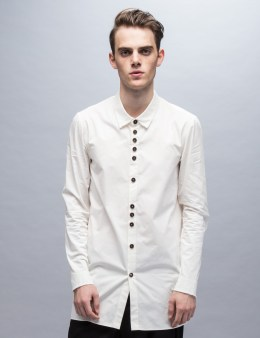Damir Doma Saba Light Cotton Gabardine Washed Aspect Shirt Picture