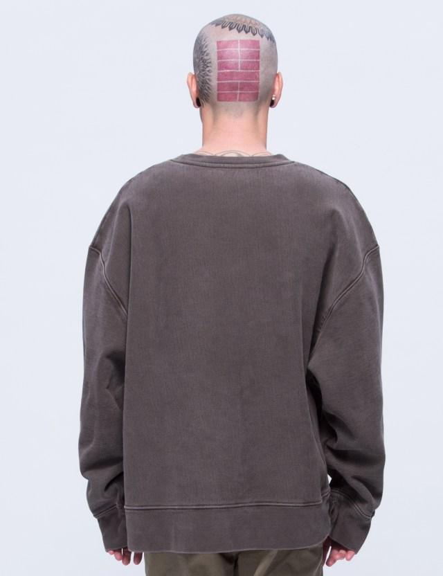 yeezy season 3 crewneck sweatshirt hbx. Black Bedroom Furniture Sets. Home Design Ideas