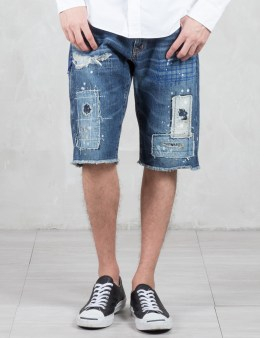 Denim by Vanquish & Fragment Remake Denim Short Pants Picture
