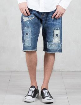 Denim by Vanquish & Fragment Remake Denim Short Pants Picture