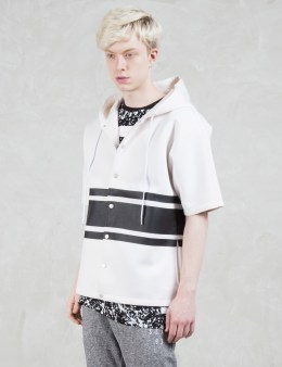 STAMPD Neoprene Hooded S/S Sweater Picture