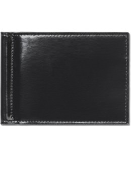 THOM BROWNE Calf Leather Money Clip Wallet Picture