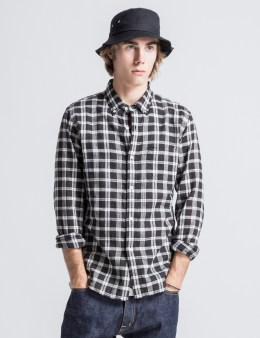 Head Porter Plus Grey Check Shirt Picture