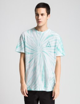 HUF Jade Washed Out Triple Triangle T-Shirt Picture