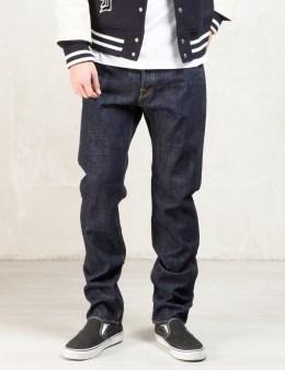 FUCT SSDD Indigo 16oz Okayama Selverdge Narrow Denim Jeans Picture