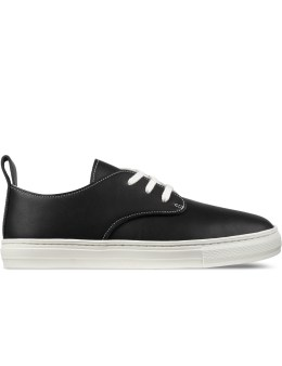buddy Black Corgi Low Smooth Shoes Picture
