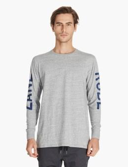 ZANEROBE Grey Shield Flintlock L/s T-shirt Picture