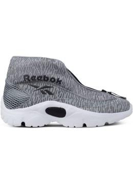 Reebok Grey/Black/White Reebok Shroud Sneakers Picture