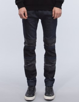 DIESEL BLACK GOLD Patch Jeans Picture