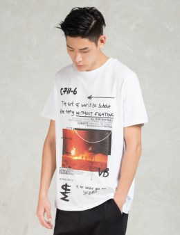 Blood Brother White Venture T-Shirt Picture