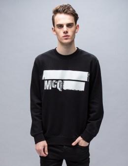 McQ Alexander McQueen L/S McQ Logo Crew Neck Sweatshirt Picture