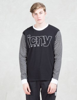 ICNY Checker L/s Top Picture