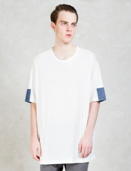 3.1 Phillip Lim Paneled Dolman S/S T-shirt Picture