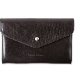Hender Scheme Dark Brown One Piece Card Case Picture
