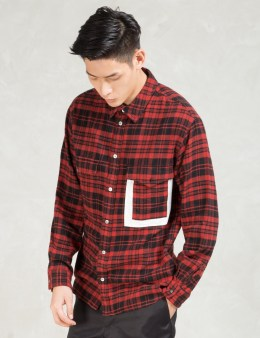 Head Porter Plus Red 3 Pocket Shirt Picture