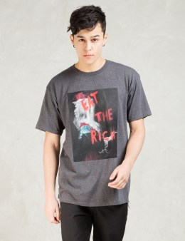 Black Scale Grey Eat The Rich T-shirt Picture