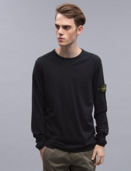 STONE ISLAND L/S T-shirt With Arm Logo Picture