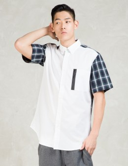 unyforme White Hoffman S/S Shirt Picture