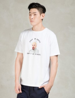 LAZY OAF White Stay In Drugs T-Shirt Picture