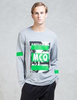 McQ Alexander McQueen Crew McQ L/S T-Shirt Picture