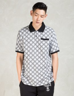 Stussy White Chain Polo Picture