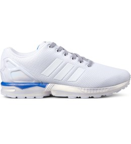 adidas Originals White ZX Flux B34484 Shoes Picture