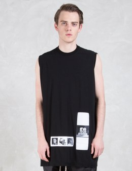 Rick Owens Drkshdw Pictures Patch Tank Picture