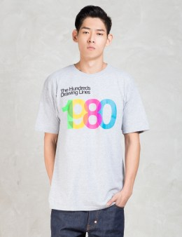 The Hundreds Grey Cross Fade T-shirt Picture