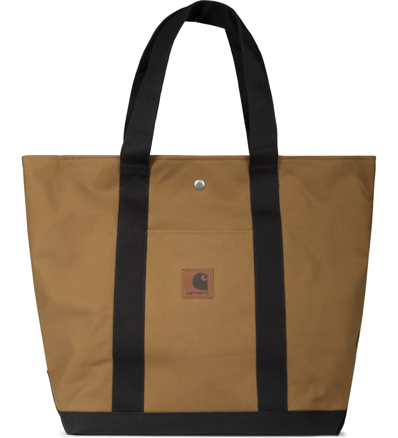 Carhartt Work In Progress Hamilton Brown/Black Simple Tote Bag