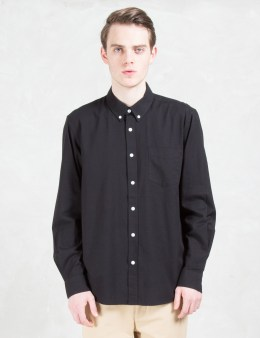 "SATURDAYS NYC ""Crosby' Oxford L/S Shirt Picture"
