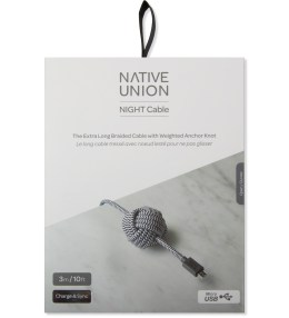 Native Union Zebra Night Cable Lightning (Micro - USB) Picture
