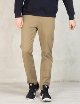 Stussy Khaki Classic Chino Pants Picture