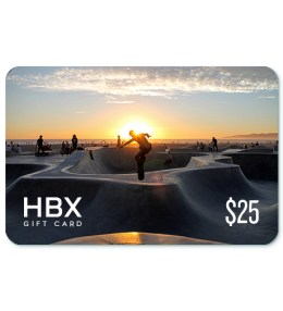 HBX Gift Card $25 Picture