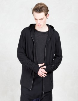 11 By Boris Bidjan Saberi Soft Cotton Zip Front Hoodie Picture
