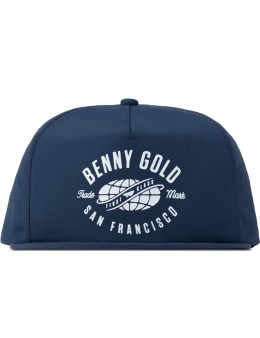 Benny Gold Blue Worldwide Nylon Unstructured Snapback Picture