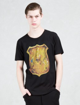 Roen Gold Skull Shield S/S T-Shirt Picture
