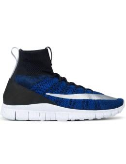 "NIKE Nike Flyknit Mercurial FC ""Racer Blue"" Picture"