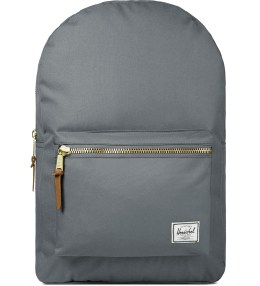 Herschel Supply Co. Grey Settlement Backpack Picture