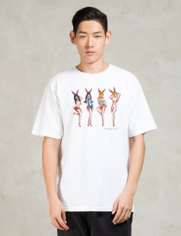 HUF White Bunnies T-shirt Picture