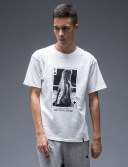 HUF White Huf Card T-Shirt Picture