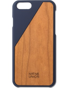 Native Union Blue Clic Wooden Iphone6+ Case Cherry Picture