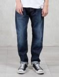 Carhartt Work In Progress Dark Squal Washed14oz Tokachi Japanese Selvedge Privateer Denim Pants Picture