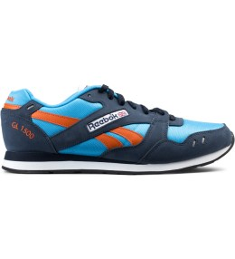 Reebok Blue/Orange GL 1500 Athletic Sneakers Picture