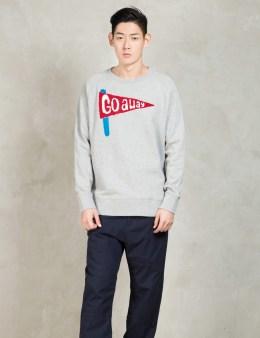 LAZY OAF Grey Go Away Sweatshirt Picture