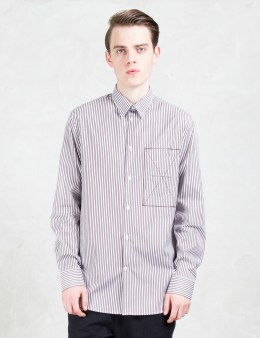 CMMN SWDN Felix Regular Fit Poplin L/S Shirt Picture
