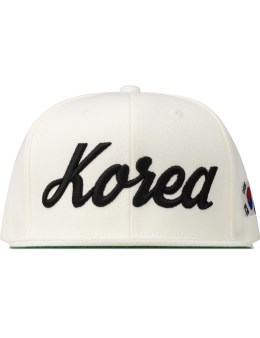 8MM White Korea Snapback Picture