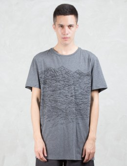 STAMPD STAMPD x Puma Wave Texture Print S/S T-Shirt Picture