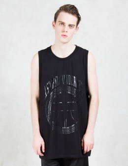 ASTRID ANDERSEN Tone On Tone Logo Basketball Tank Picture