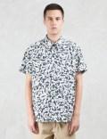 Paul Smith Paint Drop Pattern S/S Shirt Picture